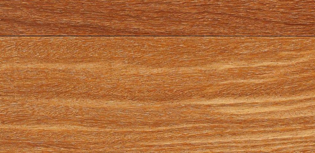 Light brown cumaru wood