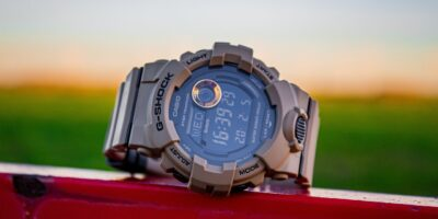 Khaki G-Shock military watch
