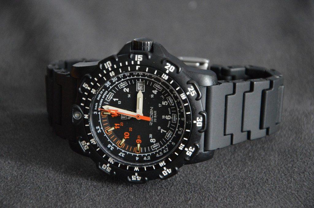 rugged military watch by Luminox