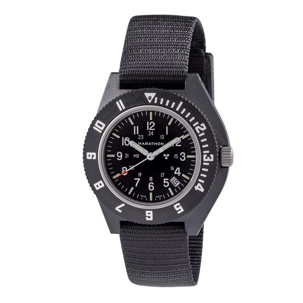marathon military watch brand with detailed dial