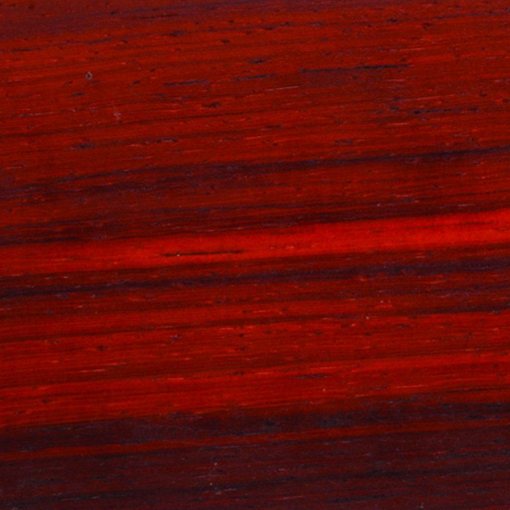 burgundy padauk wood