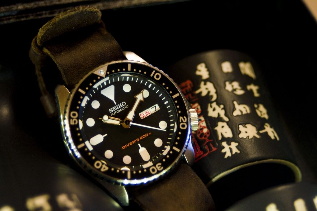 gorgeous Seiko military watch with rich dial