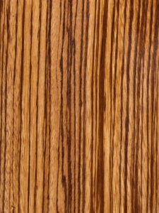 zebrawood for making wooden watches