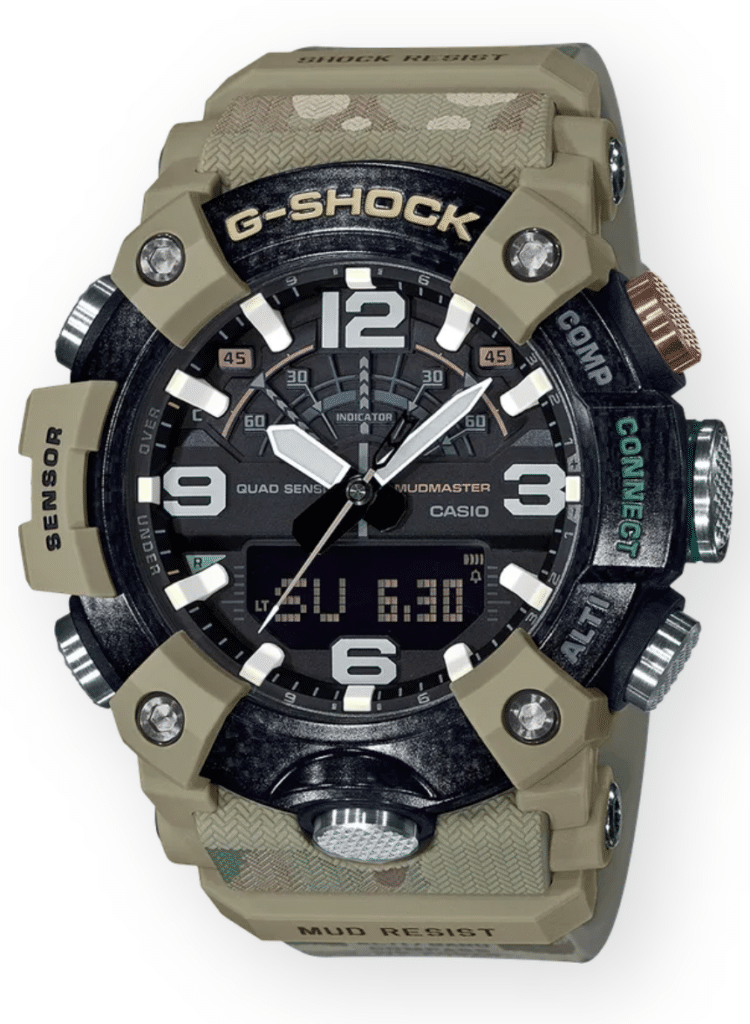 Navy green G-Shock military watch