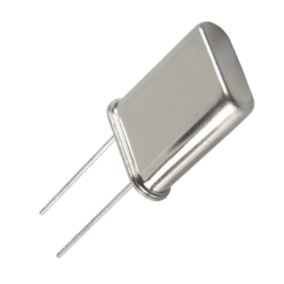 Quartz crystal oscillator in the shape of a tuning fork