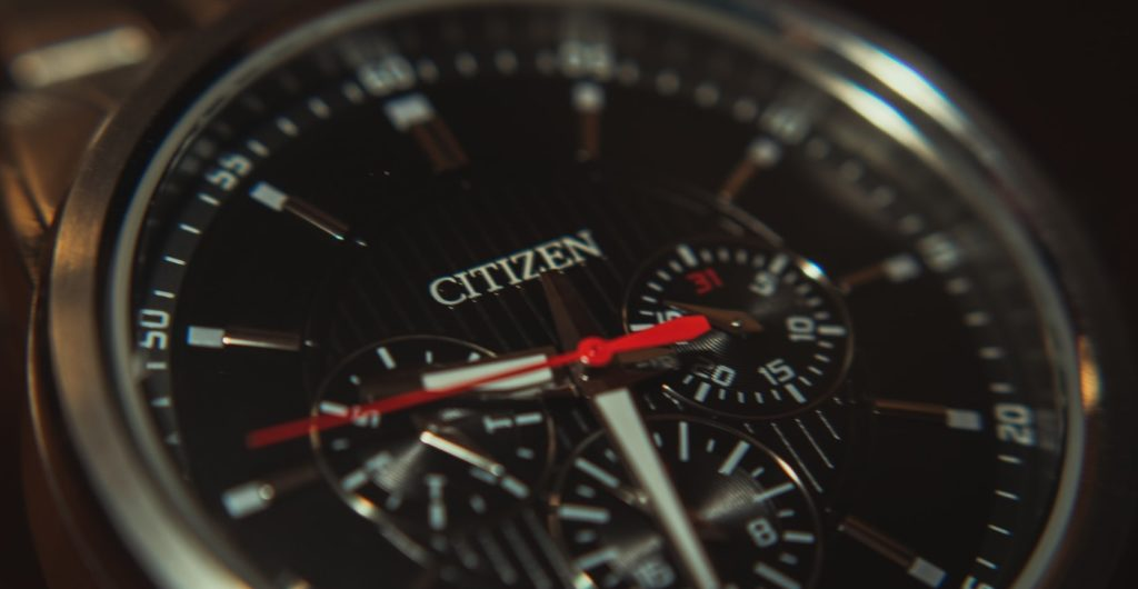 atomic timekeeping Citizen watch