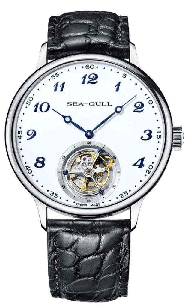 Sea-Gull tourbillon with minimalistic looks