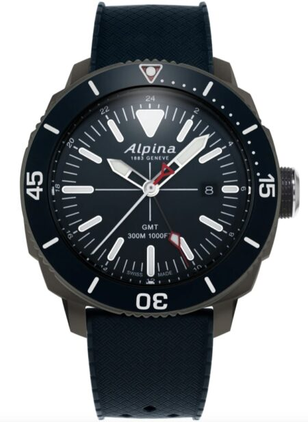 Alpina diver's watch in dark design