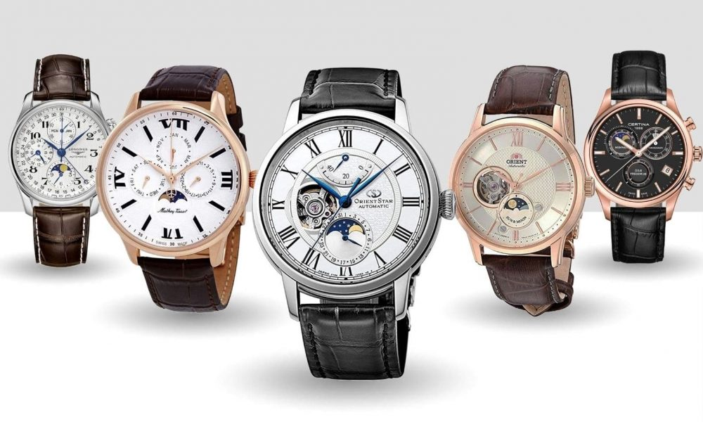 best men's moon phase watches