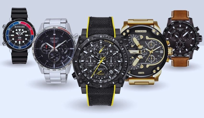 big face watches