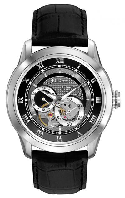 Bulova skeleton automatic watch