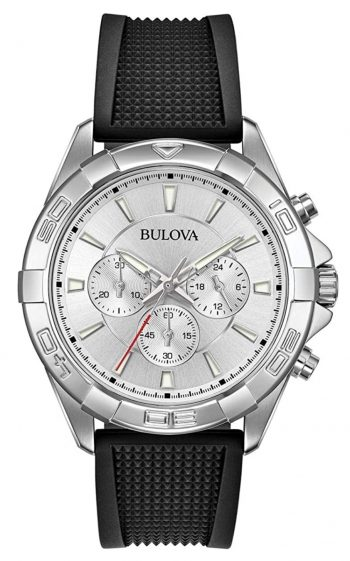 Silver-toned Bulova among the best men's watches under 100 dollars