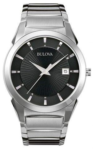Small Bulova timepiece for formal wear