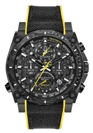 high-frequency quartz watch with oversized dial