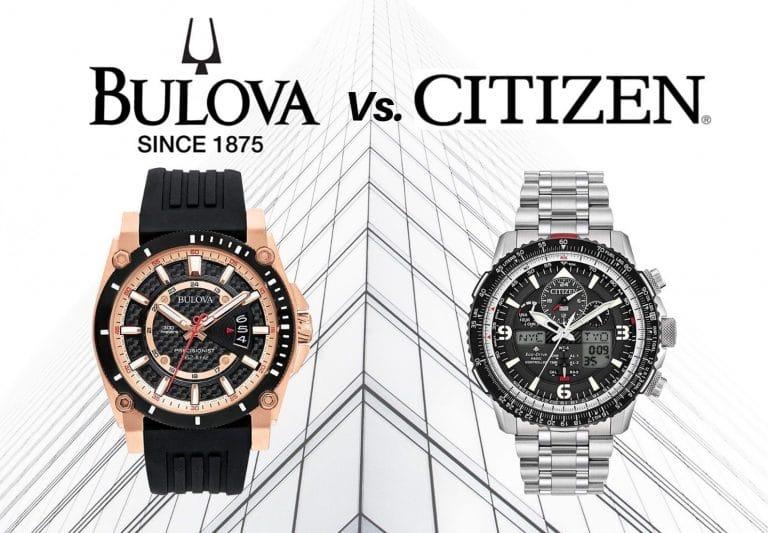 Bulova vs Citizen