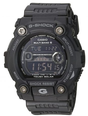 G-Shock as one of the best solar atomic watches