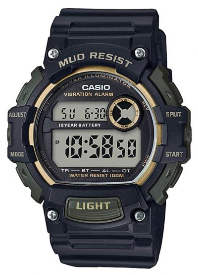 vibrating alarm watch with rugged looks
