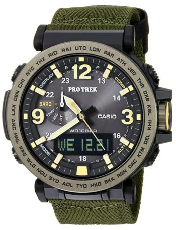 A top watch for hunting with ana-digi dial