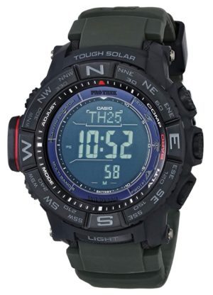 One of the best solar watches from Casio Pro Trek line