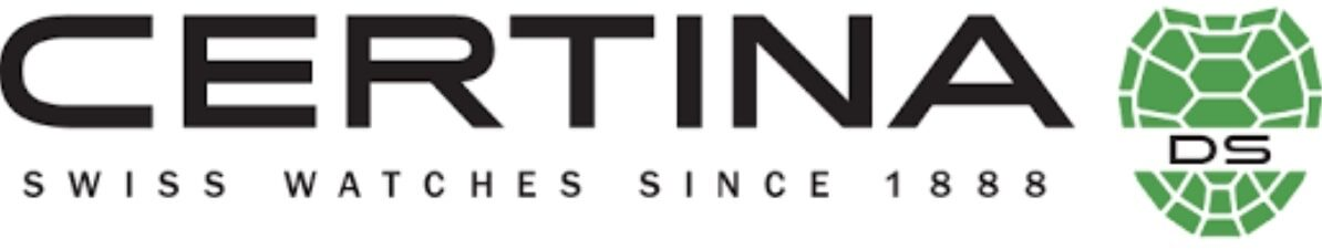 Swiss brand of Certina watch logo