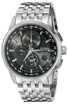 Citizen watch with solar power and atomic time