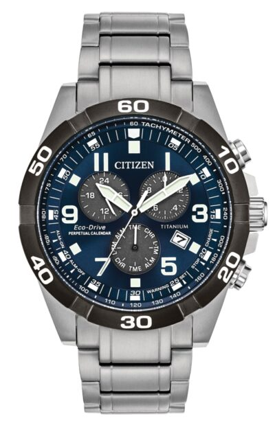 high quality Citizen titanium watch