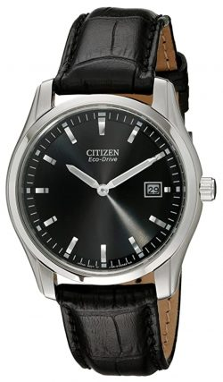 Citizen dress watch with clear dial