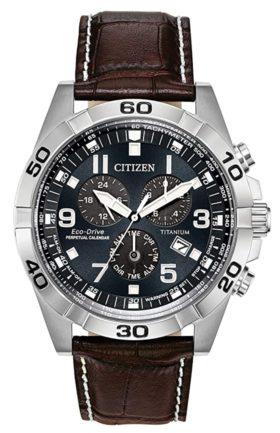 affordable chronograph piece with titanium case