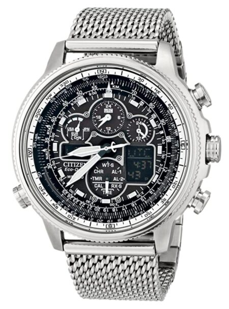 Full-metal watch with rich details