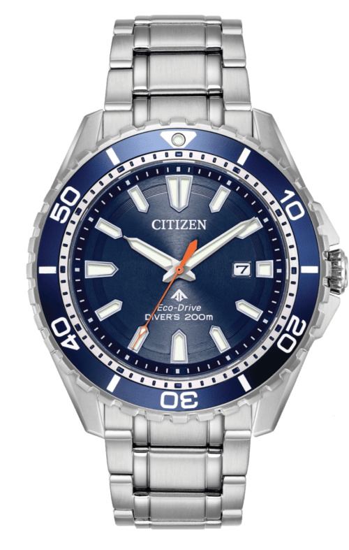 Full metal Citizen Promaster with blue dial