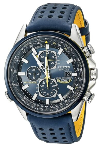 Blue-faced Citizen piece with busy dial