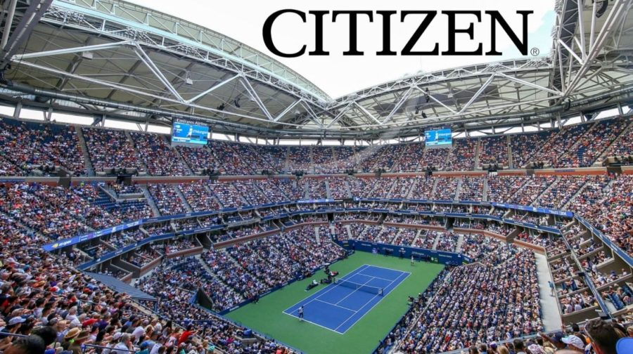 Citizen as the Official timekeeper of US Open
