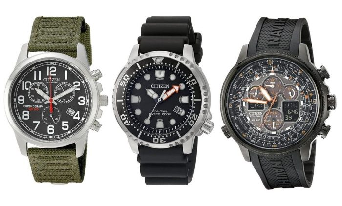 Citizen watches collection
