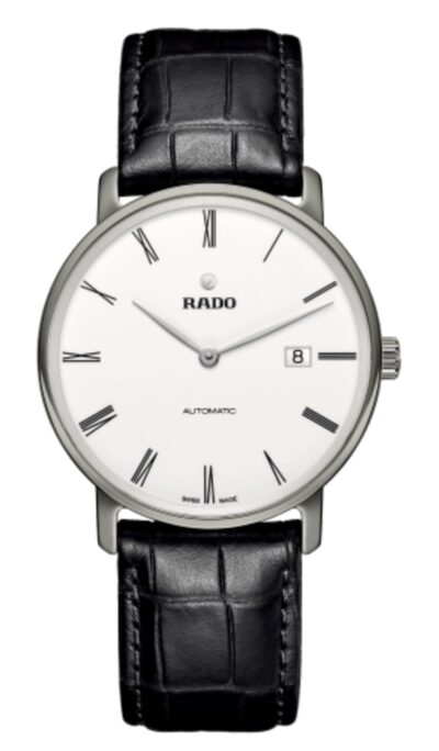 classic analog Rado Diamaster watch