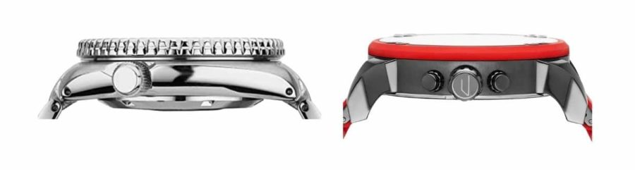 Flat vs curved lugs