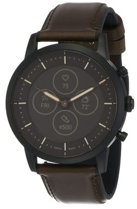 Hybrid smartwatch with analog face