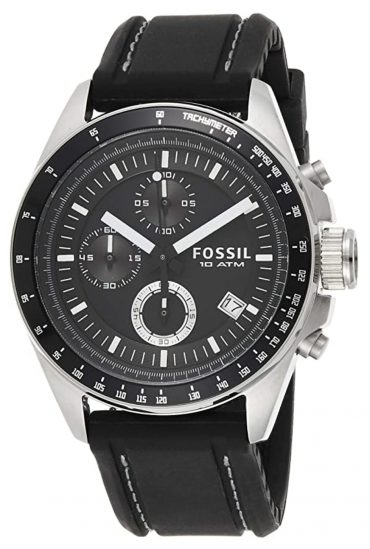 Fossil aviator watch among the best men's watches under $100
