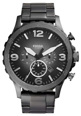 Masculine timepiece among the best Fossil watches