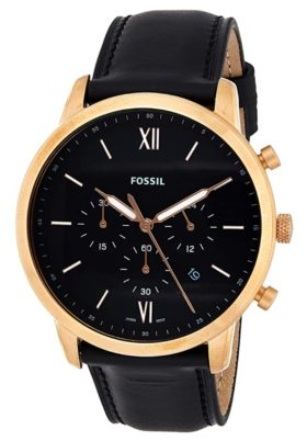 Fossil dress watch with chronograph function