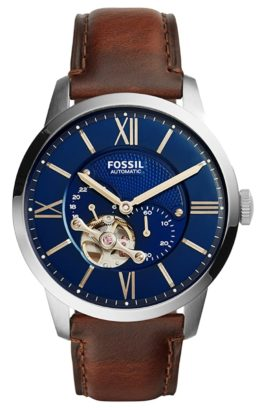 Townsman automatic piece among the best Fossil watches