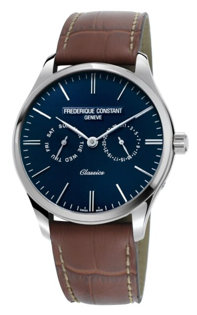 affordable swiss watch brands including Frederique Constant