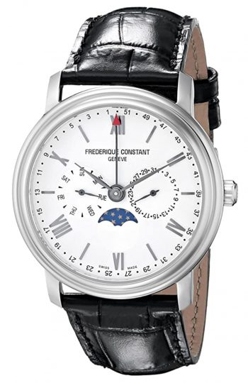 one of the best men's moon phase watches from Frederique Constant
