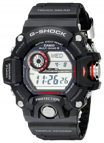 Rugged atomic watch from Casio