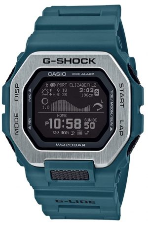 Contemporary G-Shock watch with digital screen and Bluetooth