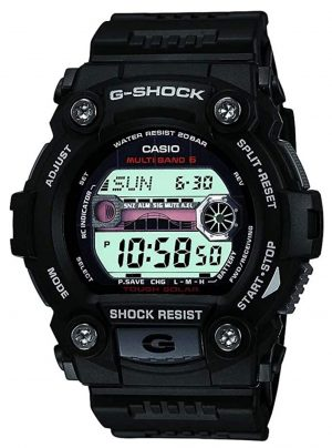 Rugged G-Shock watch for tide tracking