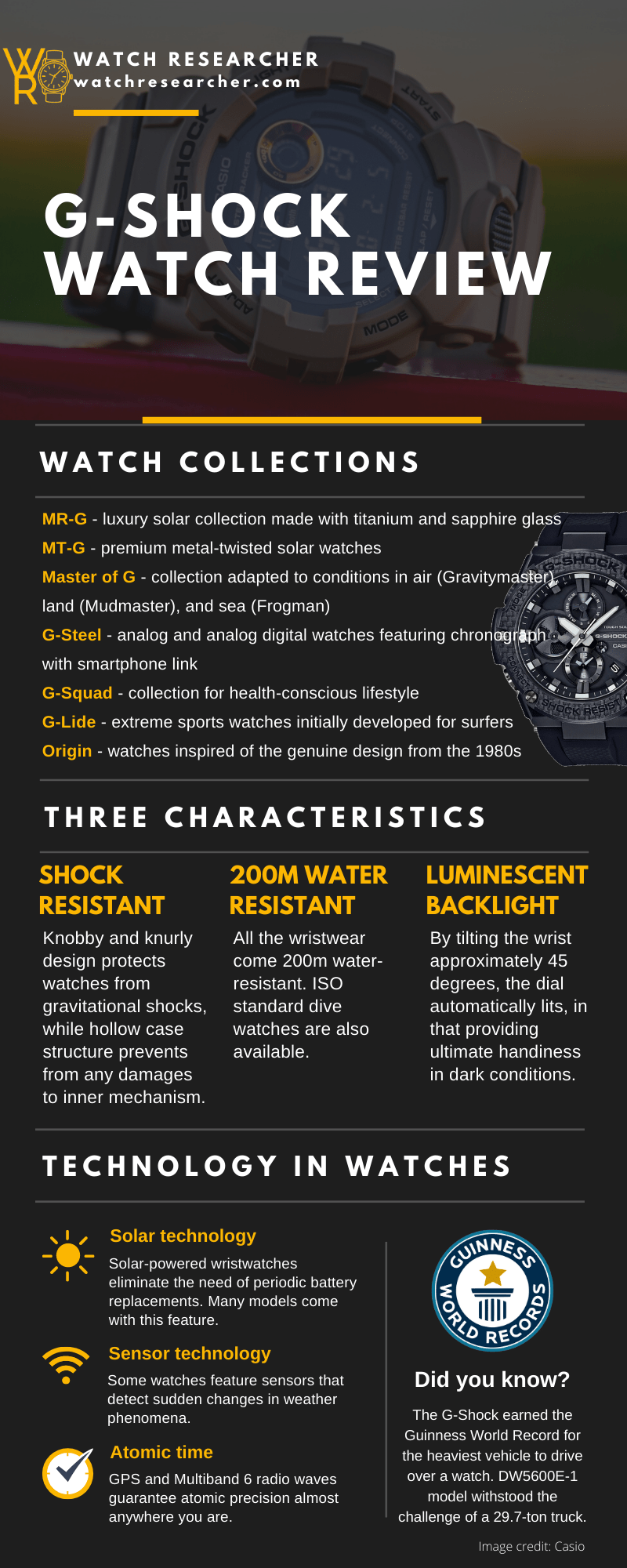 G-Shock watch review