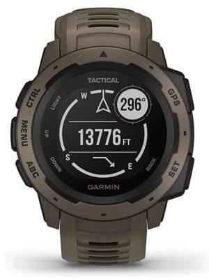 Garmin survival watch with digital screen