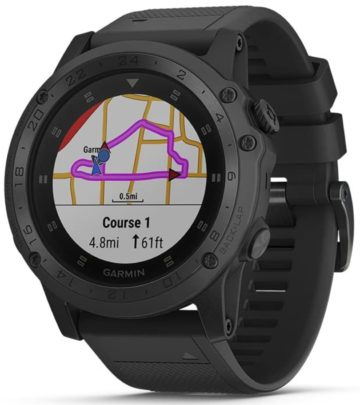 Tactical timepiece from Garmin