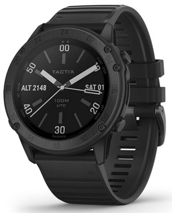A tactical watch with GPS perfect for hunting