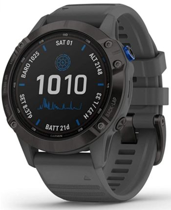 Garmin GPS hunting watch with an all-black appeal